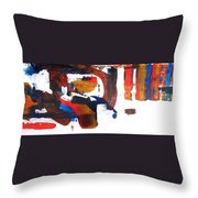 Jazz Rodeo Throw Pillow