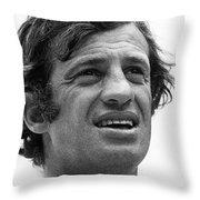 Jean-paul Belmondo, Love Is A Funny Thing Old Tucson Arizona 1969 Throw Pillow