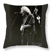 Grateful Dead - Jerry Garcia - Celebrities Throw Pillow