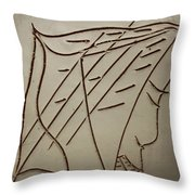 Jesus - Tile Throw Pillow