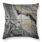 Jesus And Mary Throw Pillow