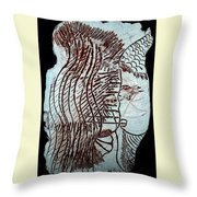 Jesus Christ And Mother Mary Throw Pillow