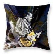 Joe Bonamassa Art Throw Pillow