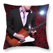 Joe Bonamassa Throw Pillow