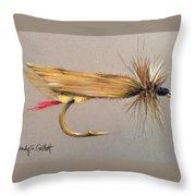 Joe's Hopper Throw Pillow