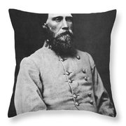 John Bell Hood (1831-1879) Throw Pillow by Granger