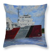 John G Munson Throw Pillow