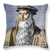 John Knox (1505-1572) Throw Pillow