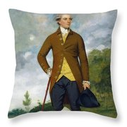 John Musters Throw Pillow