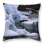 Jokulsarlon Glacier Lagoon Iceland 2431 Throw Pillow