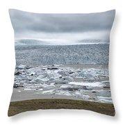 Jokulsarlon, Iceland Throw Pillow