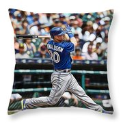 Josh Donaldson Throw Pillow