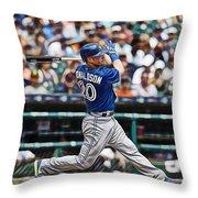 Josh Donaldson Throw Pillow