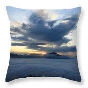 Jungle Sunrise Throw Pillow