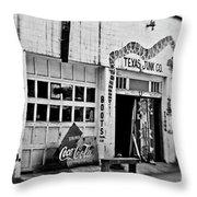 Junk Company Throw Pillow