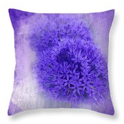 Just A Lilac Dream -4- Throw Pillow by Issabild -