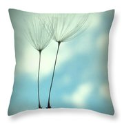 Just Two Of Us Throw Pillow