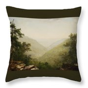 Kaaterskill Clove Throw Pillow