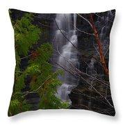 Kakabeka Falls, Low Water Throw Pillow