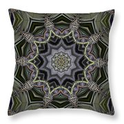 Kaleidoscope 96 Throw Pillow