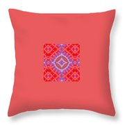 Kaleidoscope 9 Throw Pillow