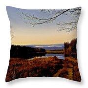 Kanasatka Lake Throw Pillow