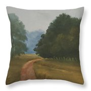 Kanha Morning Throw Pillow