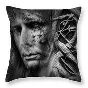 Karl Rudhyn - The Other  Throw Pillow