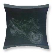 Kawasaki Ninja Throw Pillow