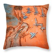 Kaweeke - Tile Throw Pillow