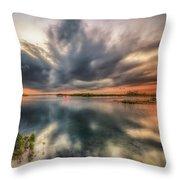 Kayaker's Dream Throw Pillow
