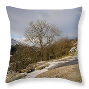 Keld To Muker Throw Pillow