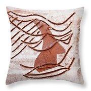 Keli - Tile Throw Pillow
