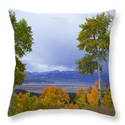 Kenosha Pass Throw Pillow