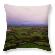 Kesh Caves Co Sligo Ireland Throw Pillow