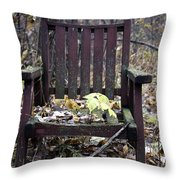 Keven's Chair Throw Pillow
