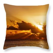 Key West Sunrise 21 Throw Pillow