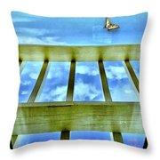 kingdom of Sky Throw Pillow