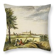 Kings College, New York Throw Pillow
