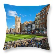 Kings Parade Throw Pillow