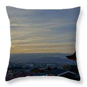 Kiyomizu-dera Throw Pillow