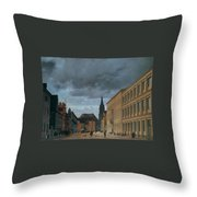 Klosterstrasse Throw Pillow