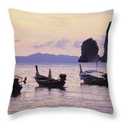 Koh Phi Phi Throw Pillow