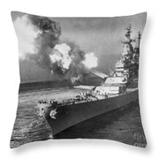 Korean War, 1950 Throw Pillow