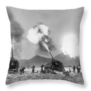 Korean War, 1951 Throw Pillow