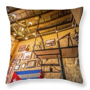 La Cubana Restaurant Throw Pillow