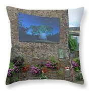 La Gacilly, Morbihan, Brittany, France, Photo Festival Throw Pillow