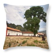 La Purisima Mission II Throw Pillow