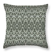 Lacey Moss Throw Pillow