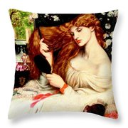Lady Lilith Throw Pillow